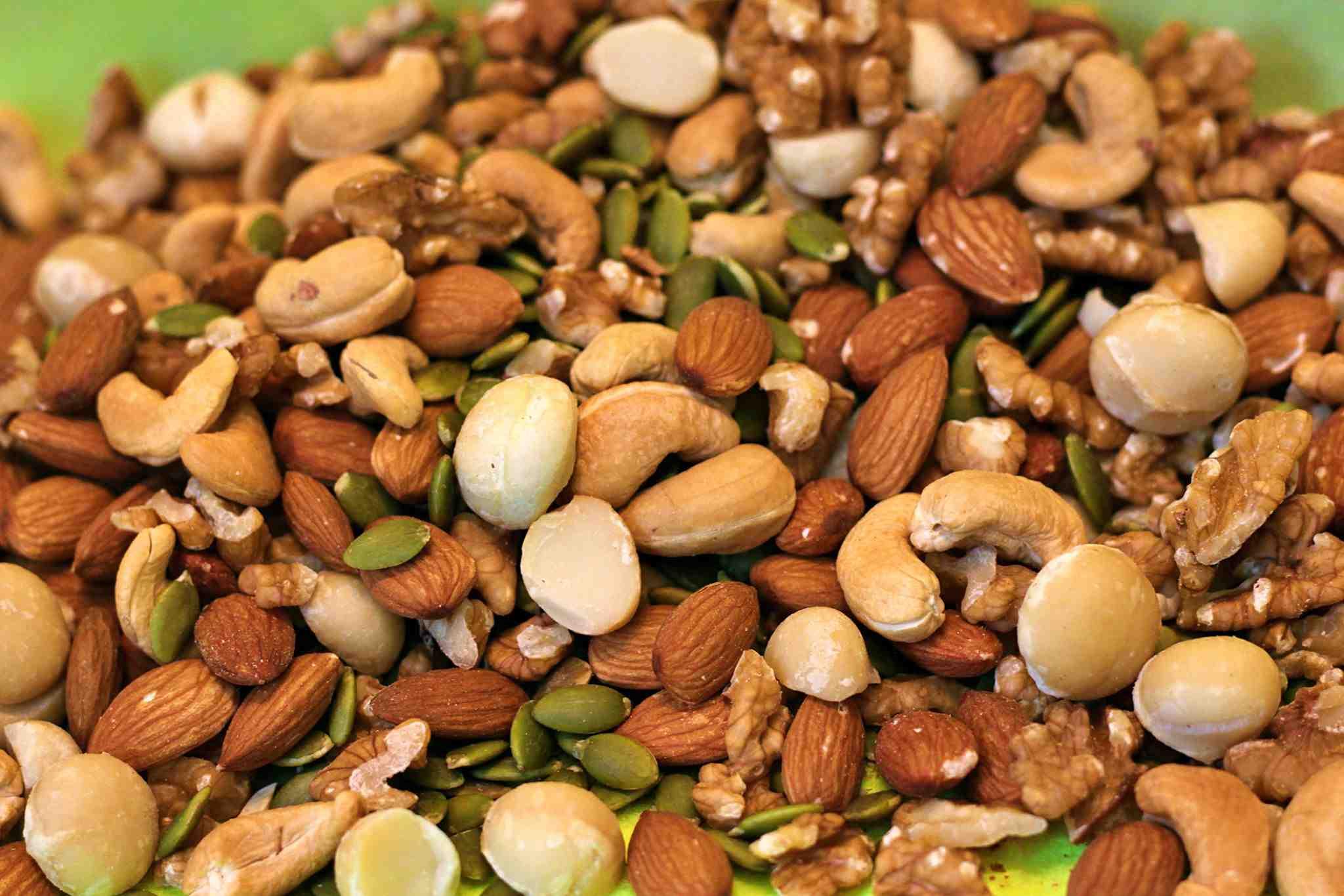 Mixed nut 5 loại hạt dinh dưỡng 500gr