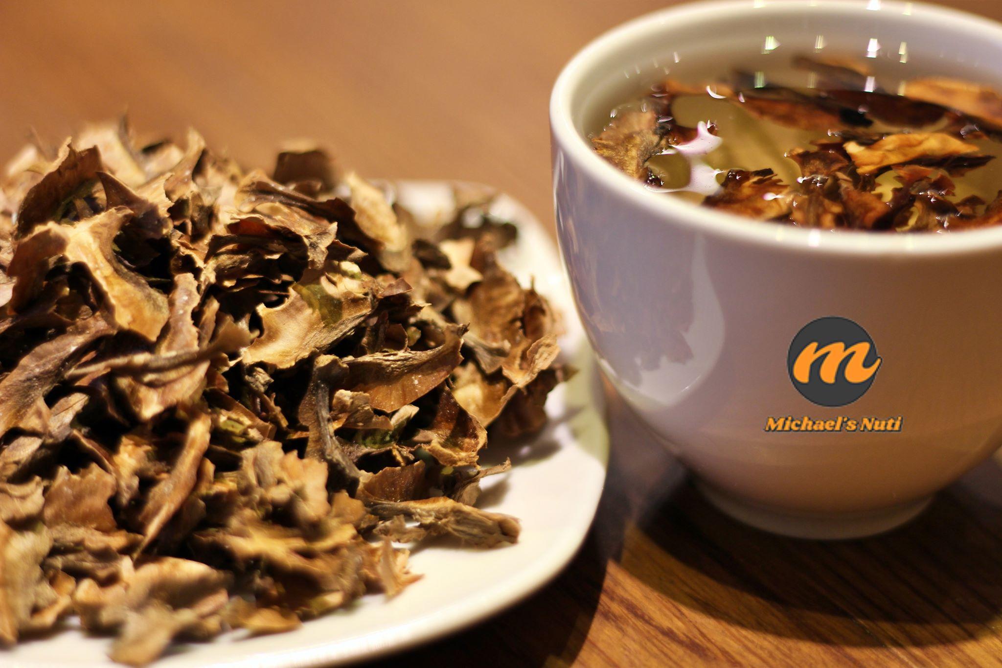Tim trà quả óc chó (pha trà cực tốt tim mạch và tiểu đường)